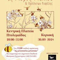 Έρχεται η 1η Γιορτή Μελιού στην Πτολεμαΐδα από τον Μελισσοκομικό Σύλλογο Π.Ε. Κοζάνης