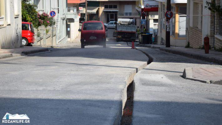 Εργοτάξιο οι δρόμοι της Κοζάνης από την τοποθέτηση οπτικών ινών – Πολλά παράπονα από κατοίκους – Δείτε φωτογραφίες