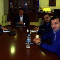 Επίσκεψη του εκπροσώπου τύπου των Ανεξαρτήτων Ελλήνων στον Περιφερειάρχη Θ. Καρυπίδη – Δείτε το βίντεο