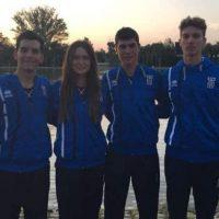 Οι αθλητές του Ναυτικού Ομίλου Κοζάνης στους εκτός των Ελληνικών συνόρων αγώνες