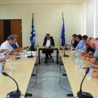 Ευρεία σύσκεψη φορέων στην Περιφέρεια Δυτικής Μακεδονίας για τις μετεγκαταστάσεις οικισμών και θέματα του ΥΠΕΝ
