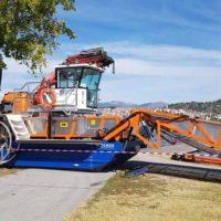 Καστοριά: Παρελήφθη το πολυμηχάνημα καθαρισμού της λίμνης