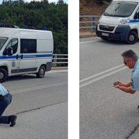 Η καλή πράξη της ημέρας από Αστυνομικό στην Καστοριά – Δείτε φωτογραφία