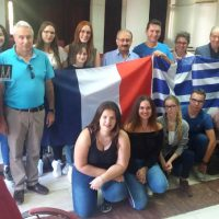 Εθιμοτυπική επίσκεψη Γάλλων μαθητών και εκπαιδευτικών στο Δήμαρχο Εορδαίας