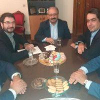 Επίσκεψη του Υφυπουργού Εργασίας Νάσου Ηλιόπουλου στον Δήμο Εορδαίας και συνάντηση με το Δήμαρχο Σάββα Ζαμανίδη