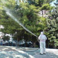 Ψεκασμοί δέντρων σε κοινότητες του Δήμου Κοζάνης