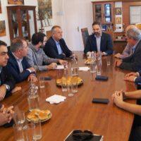 Με τον Υφυπουργό Εργασίας Νάσο Ηλιόπουλο συναντήθηκε στο Δημαρχείο Κοζάνης ο Δήμαρχος Λευτέρης Ιωαννίδης