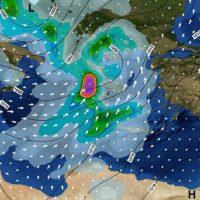 Καιρός: Η «Πηνελόπη» θα σαρώσει τη χώρα με καταιγίδες, χαλάζι και χιόνι – Δείτε αναλυτικά