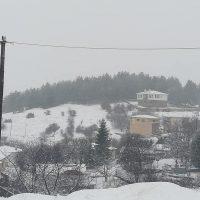 Πολύ χιόνι σε Μεταξά και Καταφύγι Κοζάνης – Δείτε φωτογραφίες