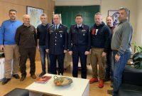 Συναντήσεις της Ένωσης Αστυνομικών Υπαλλήλων Κοζάνης στο Αστυνομικό Μέγαρο Κοζάνης