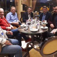 Συνάντηση του Γιώργου Κασαπίδη με την Πανελλήνια Ένωση Κτηνοτρόφων στην Κοζάνη