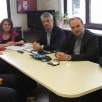 Συνάντηση του ΓΕΩΤ.Ε.Ε. Δυτικής Μακεδονίας με την υφυπουργό Ολ. Τελιγιορίδου στην Καστοριά