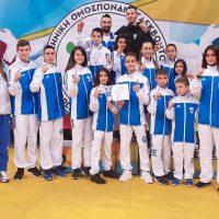 Πρώτος σύλλογος στην γενική κατάταξη 2018 στο Πανελλήνιο Πρωτάθλημα παίδων – κορασίδων του Taekwondo η Μακεδονική Δύναμη Κοζάνης