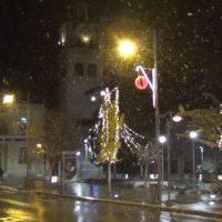 Το πρώτο χιόνι του φετινού χειμώνα στην πόλη της Κοζάνης – Δείτε το βίντεο