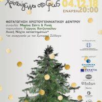 Δείτε αναλυτικά το πρόγραμμα των Χριστουγεννιάτικων εκδηλώσεων του Δήμου Κοζάνης