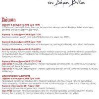 Δείτε το πρόγραμμα των εορταστικών εκδηλώσεων στο Δήμο Βοΐου