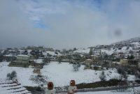 Πανέμορφο «λευκό» σκηνικό στο Μεταξά Κοζάνης – Δείτε φωτογραφίες