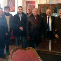 Δέχθηκε ευχές για την ονομαστική του εορτή ο Δήμαρχος Εορδαίας Σάββας Ζαμανίδης