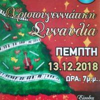 Οι Χριστουγεννιάτικες εκδηλώσεις του Μουσικού Σχολείου Πτολεμαΐδας
