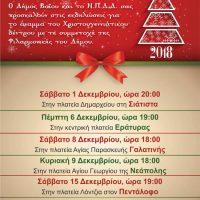 Δείτε το πρόγραμμα των Χριστουγεννιάτικων εκδηλώσεων στο Δήμο Βοΐου