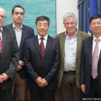 Το ζήτημα της εξαγωγής του κρόκου στην Κίνα έθεσε ο Γιάννης Θεοφύλακτος σε συνάντηση με Κινέζους Βουλευτές