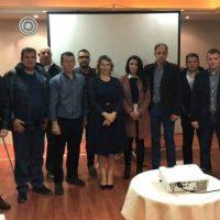 Συνάντηση του Δ.Σ της Πανελλήνιας Ομοσπονδίας Συνοριακών Φυλάκων με την Υφυπουργό Προστασίας του Πολίτη Κ. Παπακώστα