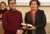 Συγχαρητήριο του Γυμνασίου Λευκοπηγής στο μαθητή της τρίτης τάξης του σχολείου Ζάμπακα Ραφαήλ για την επιτυχία και τη βράβευσή του