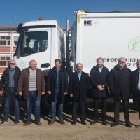 Με τρία υπερσύγχρονα απορριμματοφόρα δωρεά του ΤΑΡ ενισχύθηκε ο στόλος των οχημάτων του Δήμου Εορδαίας