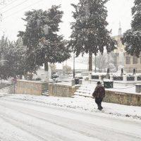 Άσπρισαν τα πάντα από την πυκνή χιονόπτωση στη Σιάτιστα – Δείτε φωτογραφίες