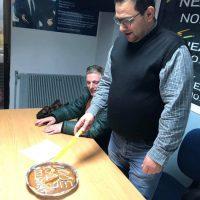 Έκοψαν την πρωτοχρονιάτικη πίτα τους τα μέλη της Ν.Δ. στη ΝΟΔΕ Κοζάνης – Δείτε φωτογραφίες