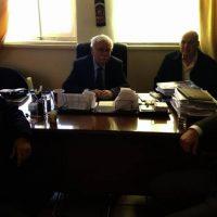 Συνάντηση Δημάρχου Βοΐου με εκπροσώπους της Εθνικής Τράπεζας για το κλείσιμο του υποκαταστήματος Τσοτυλίου