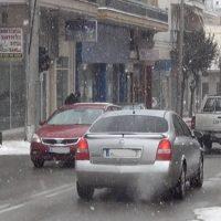 Ξεκίνησε η χιονόπτωση στην πόλη της Κοζάνης – Δείτε το βίντεο