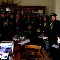 Πρωτοχρονιάτικα Κάλαντα στον Δήμαρχο Βοΐου Δημήτρη Λαμπρόπουλο