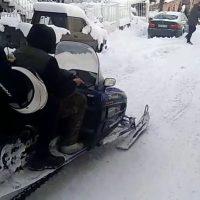 Έβγαλαν τα… snowmobile οι κάτοικοι στο Εμπόριο Εορδαίας – Δείτε το βίντεο