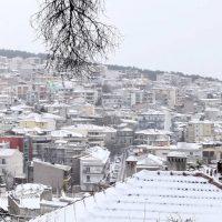 Η φωτογραφία της ημέρας: Λευκό πανέμορφο σκηνικό στην Κοζάνη μετά το κύμα κακοκαιρίας