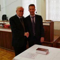 Ορκωμοσία του νέου Δημοτικού Συμβούλου Κωστάρα Δημήτριου στο Δήμο Βοΐου
