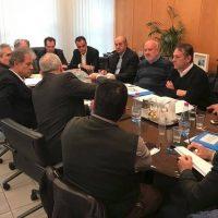 Συνάντηση του Θ. Καρυπίδη με τον Γ.Γ. Υποδομών Γ. Δέδε για την ανακούφιση των πληγέντων στα Δ.Δ. Βαλτόνερων και Φανού του Δήμου Αμυνταίου