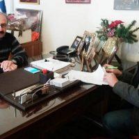 Υπεγράφη η σύμβαση έργου της επέκτασης εσωτερικού δικτύου ύδρευσης στην Τ.Κ. Κομνημών
