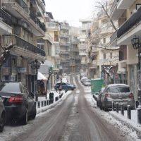 Πανέμορφες εικόνες από την χιονισμένη πόλη της Κοζάνης – Δείτε φωτογραφίες