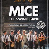Το εξαιρετικό swing συγκρότημα MICE σε μια ζωντανή βραδιά στο Le Roi