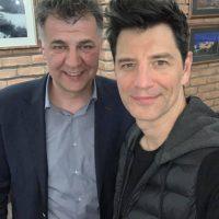 Βαγγέλης Σημανδράκος και Σάκης Ρουβάς μαζί! Τι ανέφερε για τις Χριστουγεννιάτικες εκδηλώσεις 2019 στην Κοζάνη