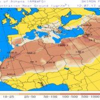 Μεταφορά Αφρικανικής σκόνης και υψηλές συγκεντρώσεις αιωρούμενων σωματιδίων έως το Σάββατο στη Δυτική Μακεδονία