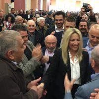 Η πρόεδρος του ΚΙΝΑΛ Φώφη Γεννηματά στην Κοζάνη – Τι είπε για Συμφωνία των Πρεσπών, οικονομία, ενέργεια και επενδύσεις – Δείτε φωτογραφίες