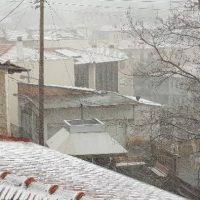 Έντονη χιονόπτωση στη Σιάτιστα – Δείτε το βίντεο