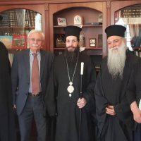 Το νέο Μητροπολίτη Σισανίου και Σιατίστης κ.κ. Αθανάσιο υποδέχθηκε στο γραφείο του ο Δήμαρχος Βοΐου Δ. Λαμπρόπουλος