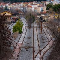 Η φωτογραφία της ημέρας: Ο σιδηροδρομικός σταθμός της Κοζάνης από άλλη οπτική γωνία