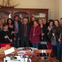 Πασχαλινές ευχές εν όψει Πάσχα αντάλλαξε ο δήμαρχος Βοΐου Δ. Λαμπρόπουλος με τους εργαζομένους του Δήμου