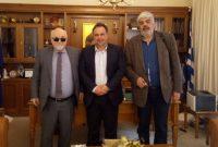 Επίσκεψη του υποψήφιου Ευρωβουλευτή του ΚΙΝΑΛ Ιωάννη Βαρδακαστάνη στην Κοζάνη