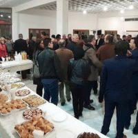 Τα εγκαίνια του εκλογικού κέντρου του συνδυασμού «Βόιο – Υπεύθυνα Μαζί» στη Σιάτιστα – Πλήθος κόσμου και ευχές στον εορτάζοντα, Λάζαρο Γκερεχτέ