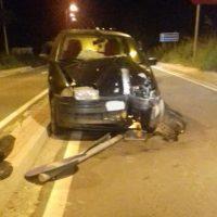 Τροχαίο ατύχημα στα Κοίλα, στον κόμβο του ΤΕΙ Κοζάνης – Δείτε φωτογραφίες